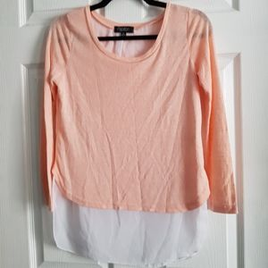 3/4 Sleeve Layered Top